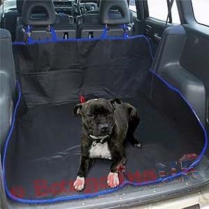 2 In 1 Waterproof Car Back Seat Boot Liner Pet Fur Hair