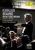 Johannes Brahms - Ein deutsches Requiem (Un Requiem allemand) / Karajan, Janowitz, van Dam, Berlin Phil.