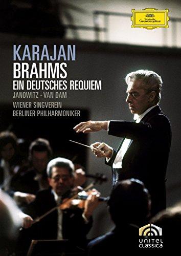 Karajan: Brahms - Ein Deutsches Requiem, Op.45 [DVD] [2008]