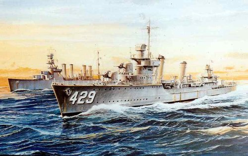 Skywave 1/700 WWII US Destroyer DD429 Livermor Model Kit