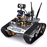 Kuman Sm5 Th Wireless Wifi Robot Car Kit for Arduino,utility Vehicle Intelligent Robotics, Hd Camera Ds Robot Smart Educational Robot Kit for Kids