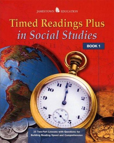 Timed Readings Plus in Social Studies: Book 10