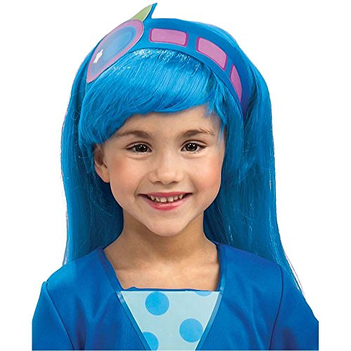 Blueberry Muffin Deluxe Kids Wig - One Size