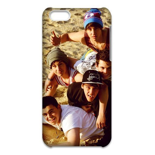 3D iPhone 5C Case,Nupro Lightweight[Non-Slip] [Scratch-Resistant]Protective Bumper Cover Brooks Brothers Janoskians Design
