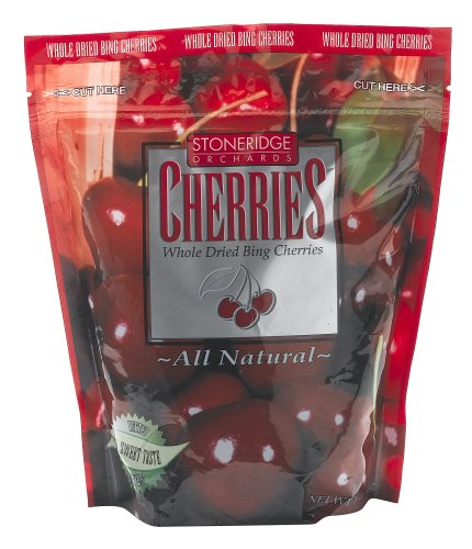 Buy Stoneridge Orchards Whole Dried Bing Cherries, 16-Ounce Pouches (Pack of 2) (Stoneridge Orchards, Health & Personal Care, Products, Food & Snacks, Snacks Cookies & Candy, Snack Food)
