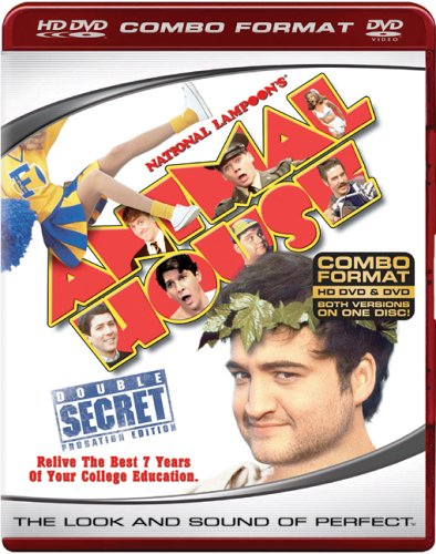 Cover art for  National Lampoon's Animal House (HD DVD/DVD Combo)