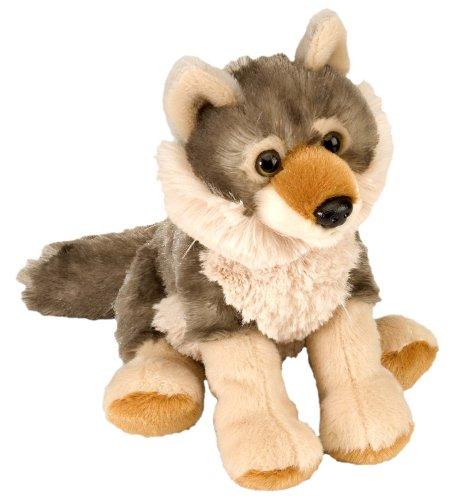 "Wild Republic CK-Mini Wolf 8"" Animal Plush"