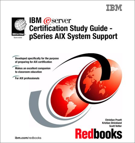 IBM E(Logo)Server Certification Study Guide - Pseries Aix System Support