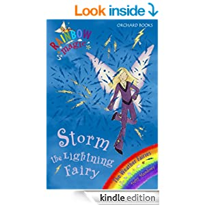 rainbow magic the weather fairies 13 storm the lightning fairy kindle edition by daisy. Black Bedroom Furniture Sets. Home Design Ideas