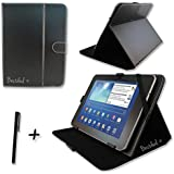 Bestdeal® Black PU Leather Case Cover Stand for Time2 10.1 inch Tablet PC + Stylus Pen