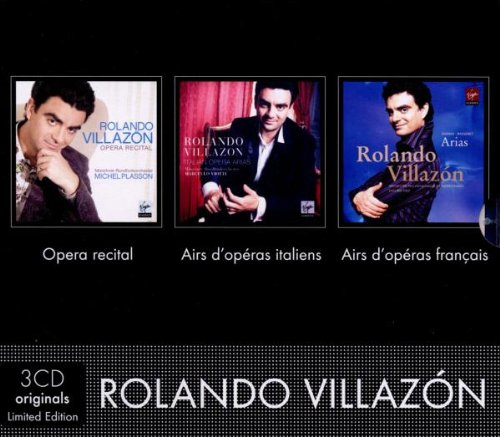 Arias Operas Italianas+Francesas+Recital - ROLANDO VILLAZON - CD