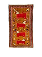 Kilim Carpets by Jalal Alfombra Gashgai (Marrón/Rojo)