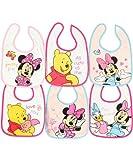 Disney Minnie & Friends 6-Pack Bibs