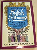img - for A Dictionary of English Surnames book / textbook / text book