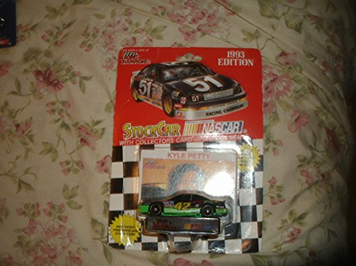 1993 Racing Champions Nascar Kyle Petty #42 Mello Yello Rare Die Cast with Collectors Card & Display Stand