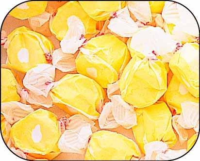Lemon Merringue Gourmet Salt Water Taffy 1 Pound Bag
