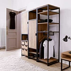 kleiderschrank 4 m angebote auf waterige. Black Bedroom Furniture Sets. Home Design Ideas