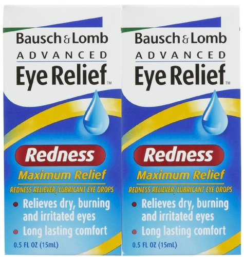Bausch & Lomb Advanced Eye Relief Redness Maximum Relief Drops - 2 pk. (Advanced Relief compare prices)