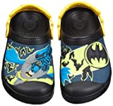Crocs Boys' Batman Glow-in-the-Dark Clog, Black-6/7 Toddler thumbnail