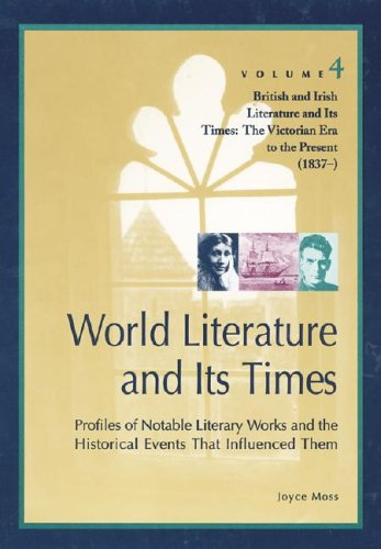 World Literature and Its Times: Profiles of Notable Literary Works and the Historical Events That Inluenced Them (World