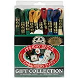 DMC 117F25-HDAY Embroidery Holiday Decor Floss Pack, Assorted Color, 8.7-Yard, 30/Pack