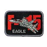 自衛隊グッズ ワッペン 航空自衛隊 F-15 EAGLE パッチ ベルクロ付