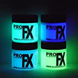 4 Color Set Glow in the Dark Paint, Luminous, Glowing 1oz - Best Reviews Guide