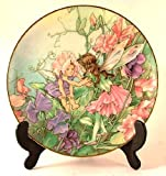 Heinrich Flower Fairies Collector plate - The Sweet Pea Fairy - by Cicely Mary Barker - CP987