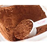 Baking Cocoa Powder (Dutch Processed Cocoa, 1 Lb) in a Plastic Jug
