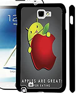 ColourCraft Funny Design Design Back Case Cover for SAMSUNG GALAXY NOTE 2 N7100
