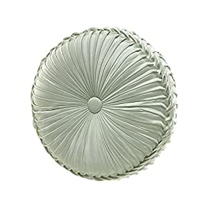 Tufted Round Decorative Pillow : Amazon.com - Queen Street Montague Tufted Round Decorative Pillow