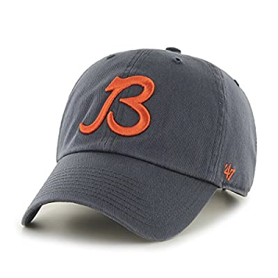 NFL Chicago Bears Clean Up Adjustable Hat, One Size, Navy