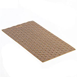 Amazon Com Extra Large Rubber Bath Mat Coffee Home Amp Kitchen