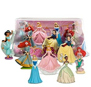 Amazon.com: Disney Princess Mini-Figure Play Set #1: Toys & Games: www.amazon.com/Disney-Princess-Mini-Figure-Play-Set/dp/B00G880XJG