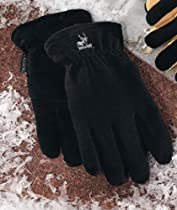 Heatlok Thermal Warm Winter Black Gloves Size Large L New Sealed Package