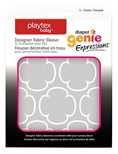 diaper-genie-playtex-expressions-fabric-sleeve-grey-clovers