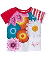 Desigual - mix - t-shirt - bébé fille