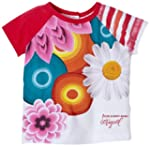 Desigual - mix - t-shirt - b�b� fille