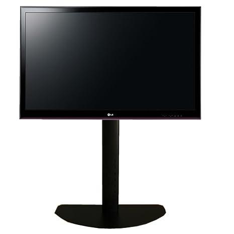 """Peana para TV entre 40""""-63"""". 150 cms de altura. Permite giro del TV. C/Negro"""