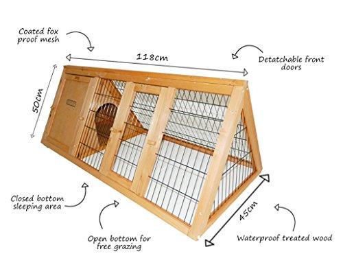 Cage portable extérieur en bois pour furet pas cher