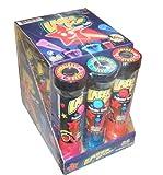 Kidsmania Laser Pop Projector Candy Lollipop (Pack of 12)