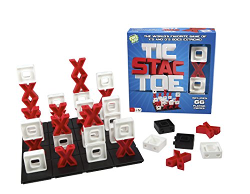 Tic Stac Toe -- 3-D Version of Tic Tac Toe -- A Great Strategy Game (Tic Tac Toe Game compare prices)
