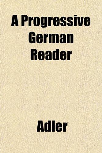 A Progressive German Reader
