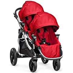 Baby Jogger 2014 City Select Stroller w 2nd Seat, Ruby by BaJogger
