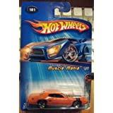 Hot Wheels 2005 Muscle Mania 1971 Plymouth GTZ #101 ORANGE Kmart Exclusive 1/5