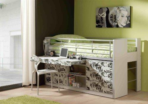 hochbett f r erwachsene g nstig kaufen. Black Bedroom Furniture Sets. Home Design Ideas