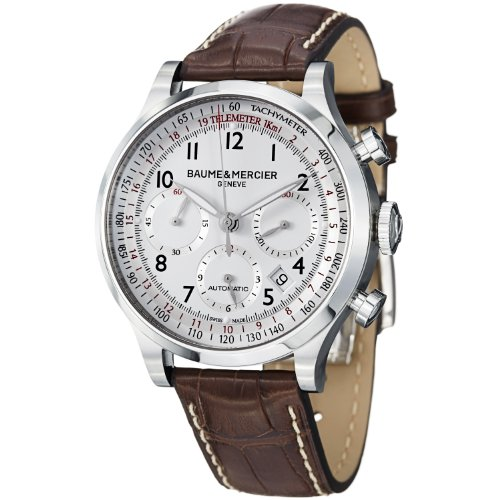 baume-et-mercier-capeland-m0a10082-gents-brown-calfskin-automatic-date-watch
