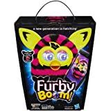 HASBRO FUR FURBY BOOM SWEET PINK/BLACK STRIPES A NEW GENERATION IS HATCHING KIDS