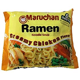 top romen creamy chicken