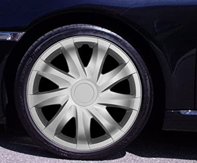 Radkappen DRACO silber 15 Zoll Citroen Berlingo, C2, C3, Pluriel, X-TR, Picasso, C4 Coupe, C5 Break, C8, DS3 von Autoteppich Stylers bei Reifen Onlineshop